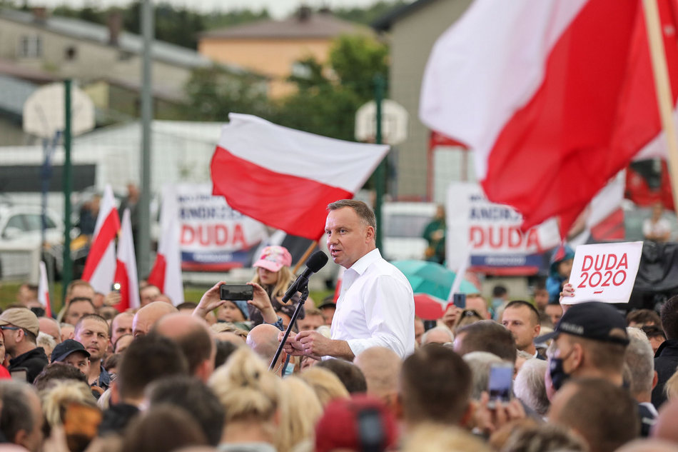 Prezydent Andrzej Duda odwiedził region świętokrzyski (WIDEO)