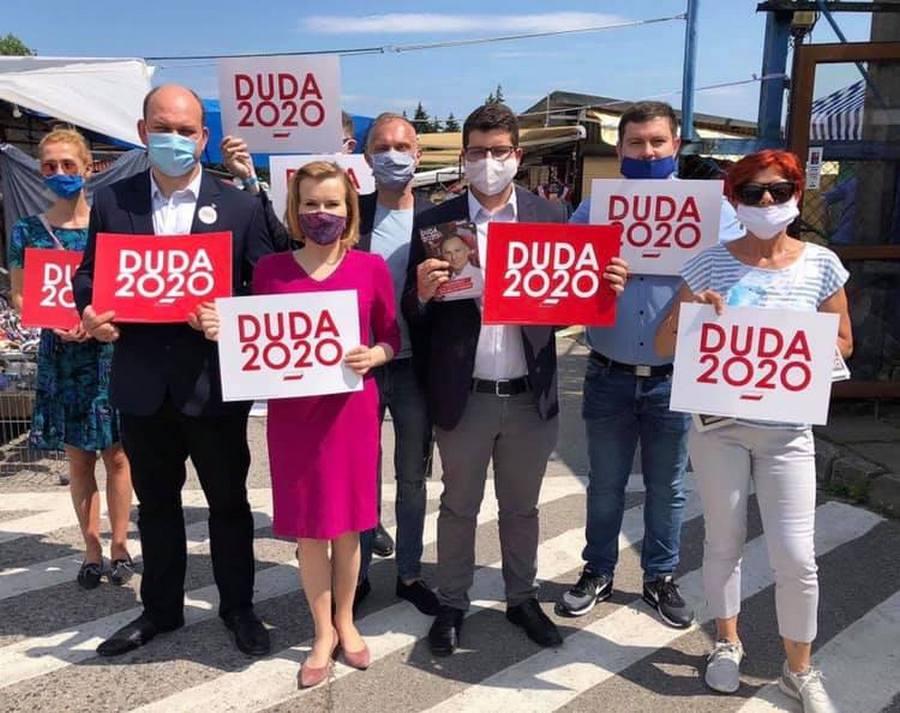 Wiceminister Anna Krupka zachęca do głosowania na prezydenta Andrzeja Dudę