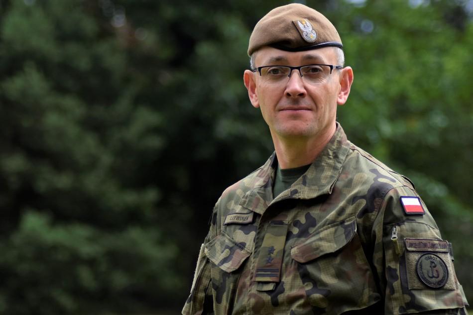 Nowy dowódca batalionu lekkiej piechoty w Kielcach