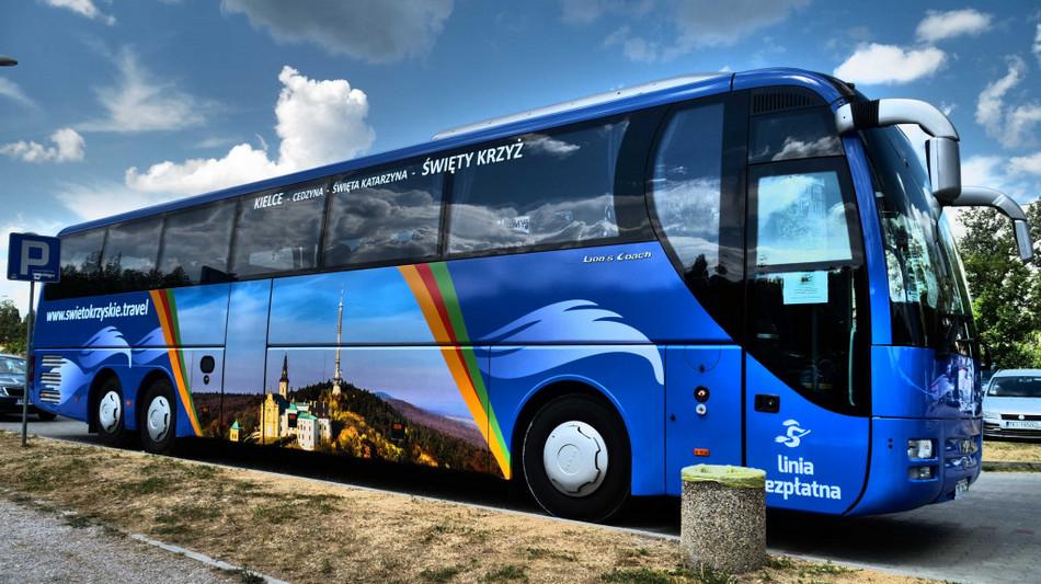 Rusza bezpłatna linia autokarowa z Kielc na Święty Krzyż