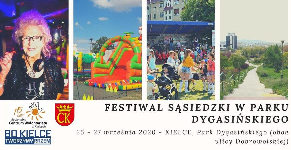 Festiwal Parku Dygasińskiego i Potańcówka z DJ Wiką