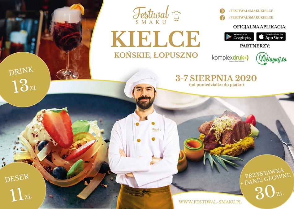 Festiwal Smaku ponownie w Kielcach i regionie!