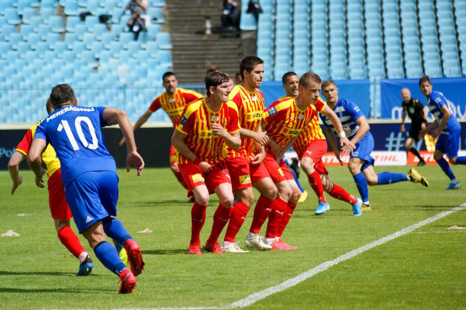 Piękny mecz Korony Kielce w Płocku