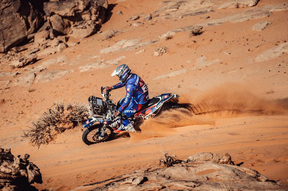 Wypadek Macieja Giemzy. Motocyklista musiał wycofać się z Rajdu Dakar
