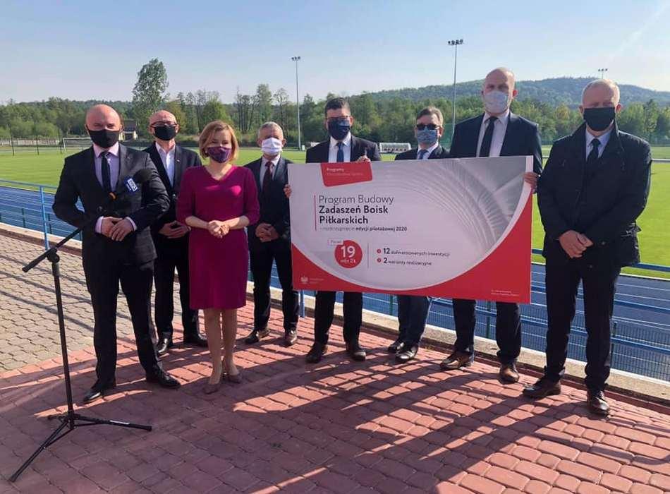 Ministerstwo Sportu wspiera świętokrzyską piłkę nożną