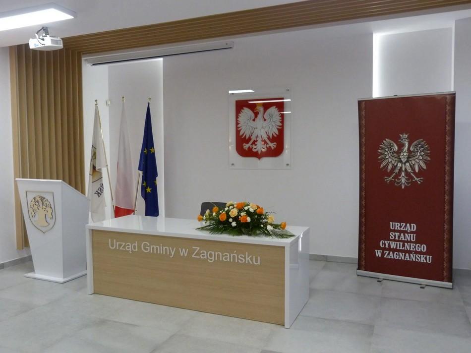 Nowa sala ślubów w Urzędzie Gminy w Zagnańsku uroczyście otwarta