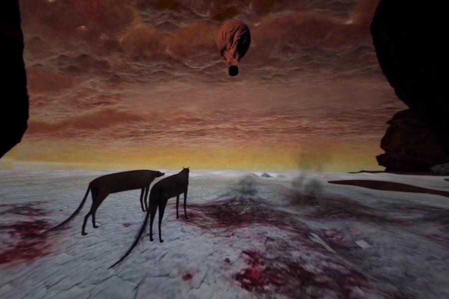 Stań się częścią obrazów Beksińskiego. Wyjątkowy pokaz VR w kieleckim muzeum