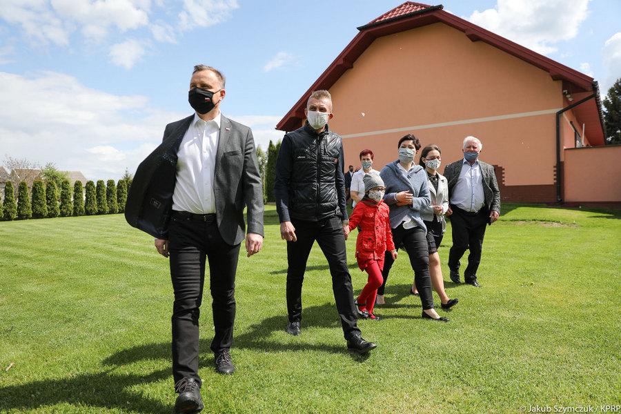 Prezydent Andrzej Duda odwiedził region świętokrzyski