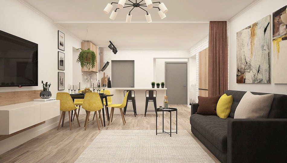Projektowanie wnętrz bez błędów – aranżacja salonu