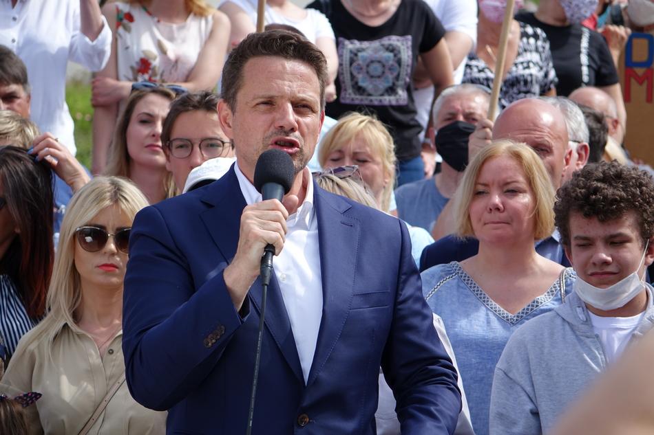Rafał Trzaskowski nie weźmie udziału w debacie z Andrzejem Dudą w Końskich