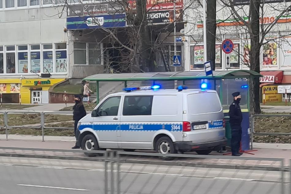 Śmierć na przystanku autobusowym