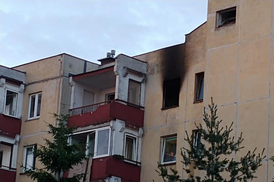 Po pożarze na osiedlu Dalnia. Potrzebna pomoc dla samotnej matki z dwójką dzieci