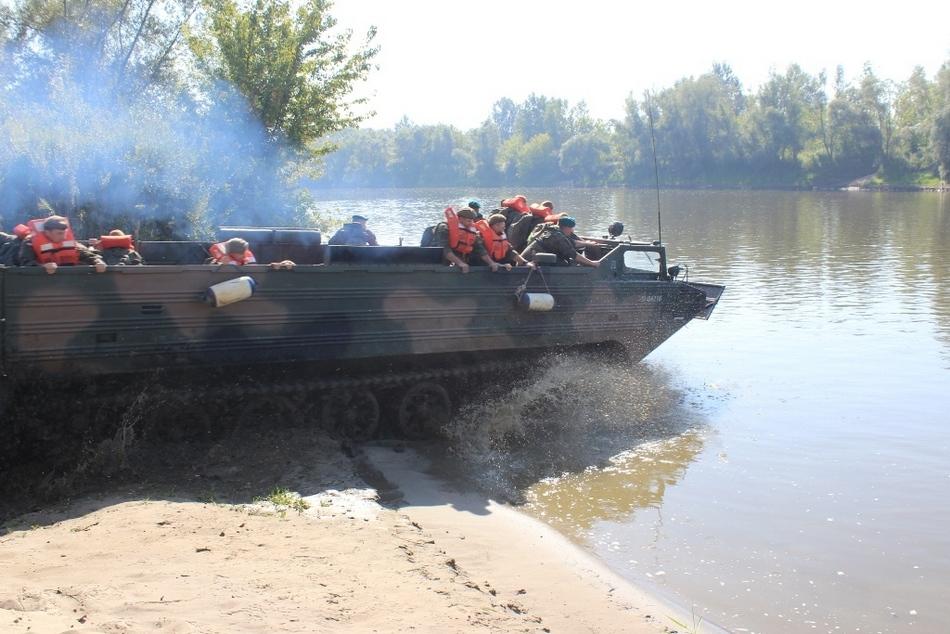 Świętokrzyscy Terytorialsi przeszli intensywne szkolenie przeciwpowodziowe