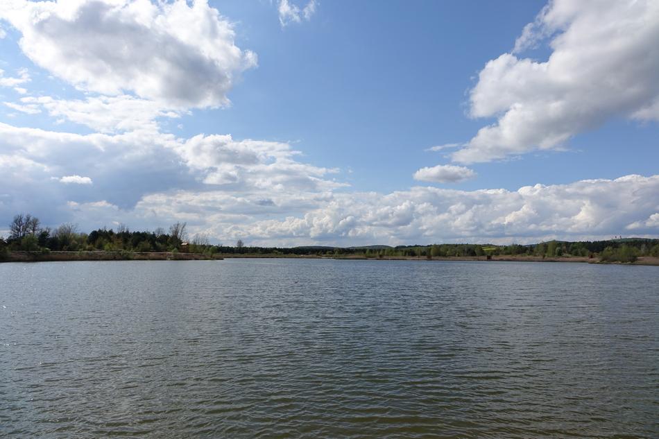 Zbiornik wodny w Lipowicy na ukończeniu. Robi niesamowite wrażenie!