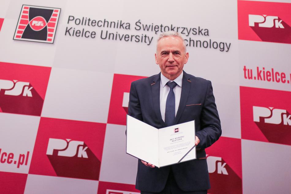 Profesor Zbigniew Koruba nowym Rektorem Politechniki Świętokrzyskiej
