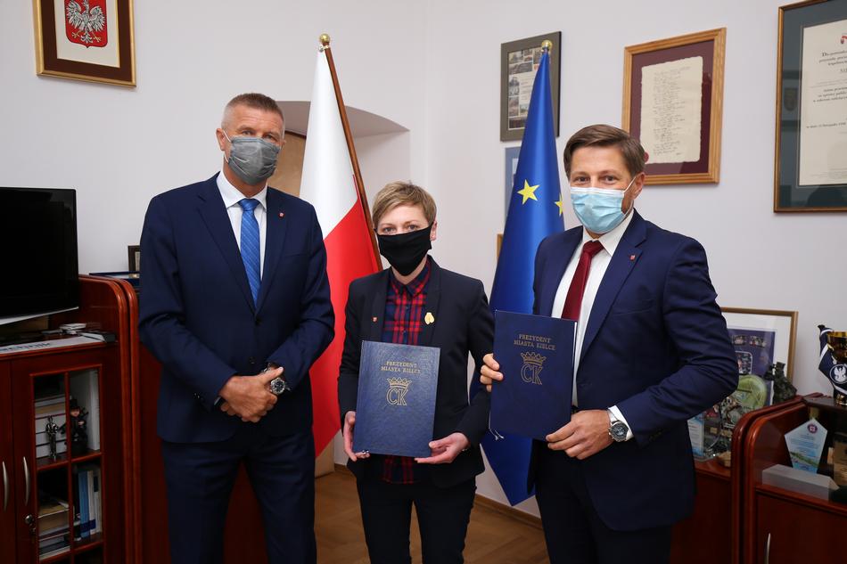 Agata Wojda oraz Marcin Chłodnicki nowymi Zastępcami Prezydenta Kielc