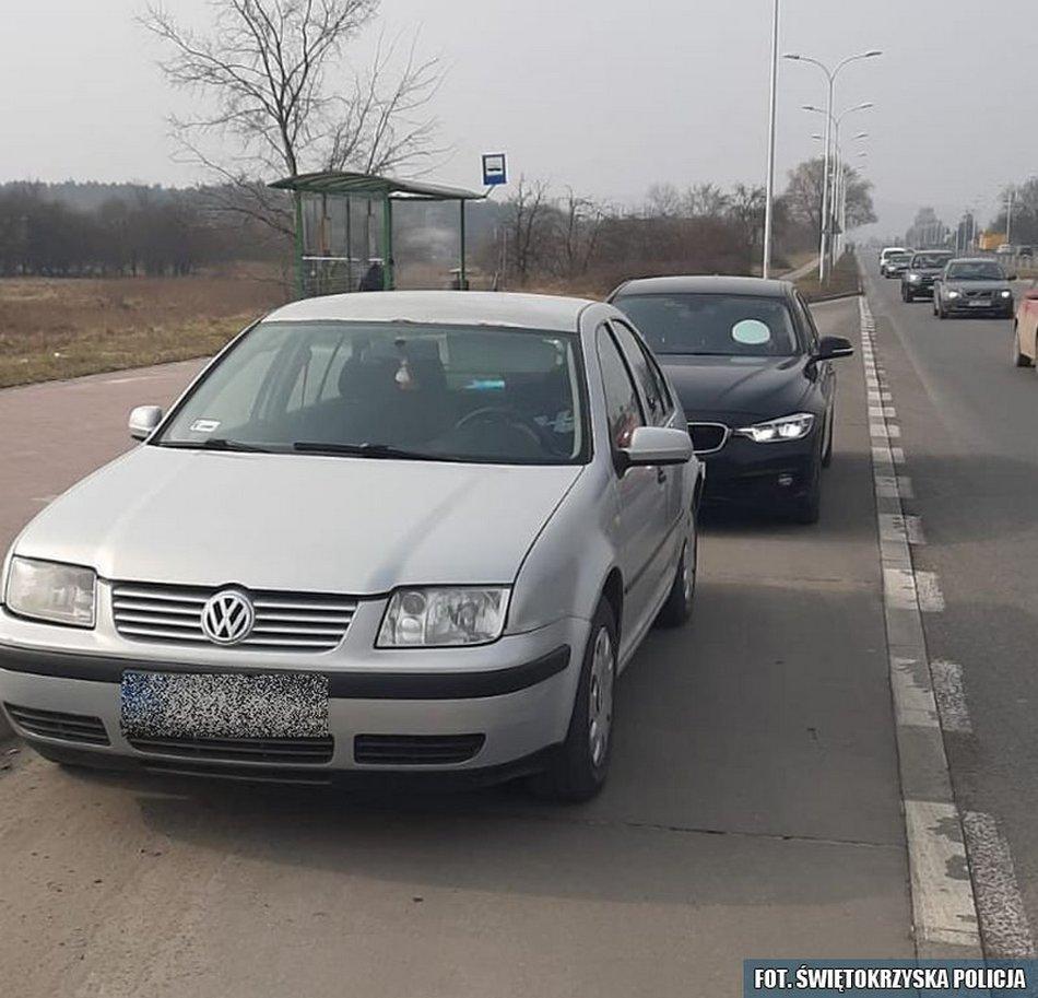 Bez prawa jazdy, bez ubezpieczenia, bez przeglądu i na podmienionych tablicach