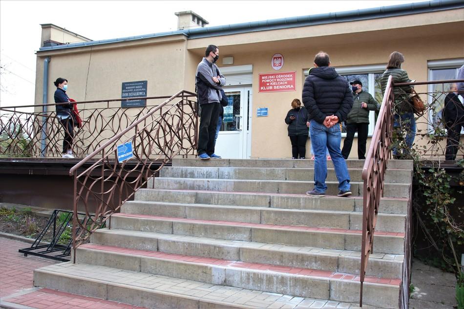 Drugi miejski punkt szczepień w Kielcach rozpoczął działalność