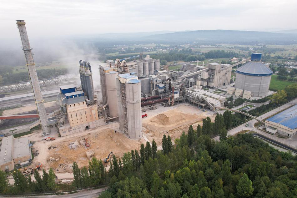 Modernizacja Cementowni Małogoszcz warta ponad 100 mln euro
