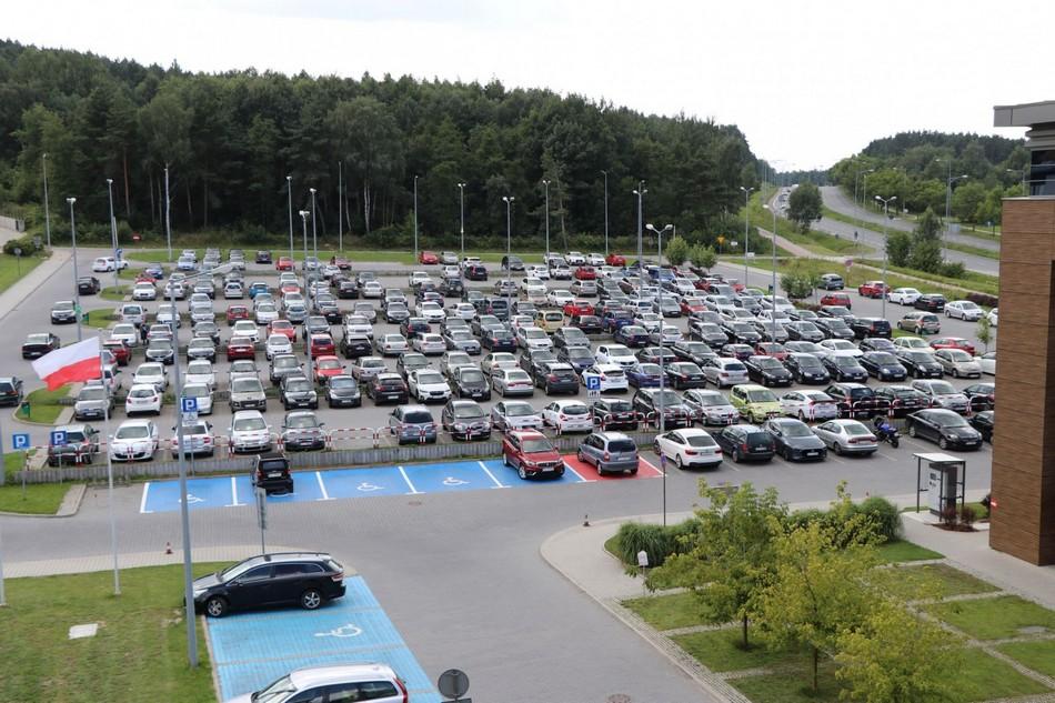 Parking przy Starostwie będzie płatny