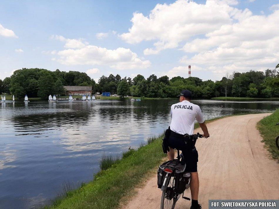W miasto ruszyły rowerowe patrole