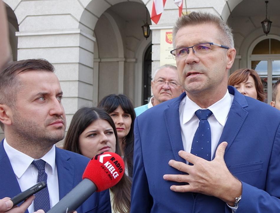 Spadek poparcia dla prezydenta Bogdana Wenty