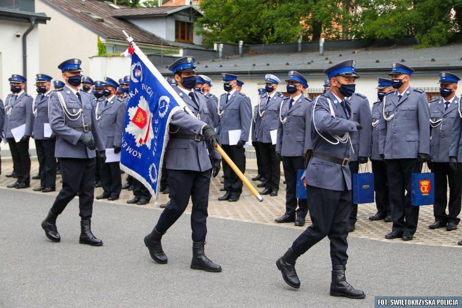 Święto Policji w Komendzie Miejskiej w Kielcach