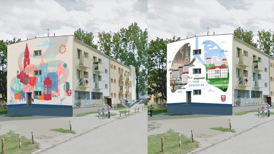 W Kielcach powstanie kolejny ekologiczny mural