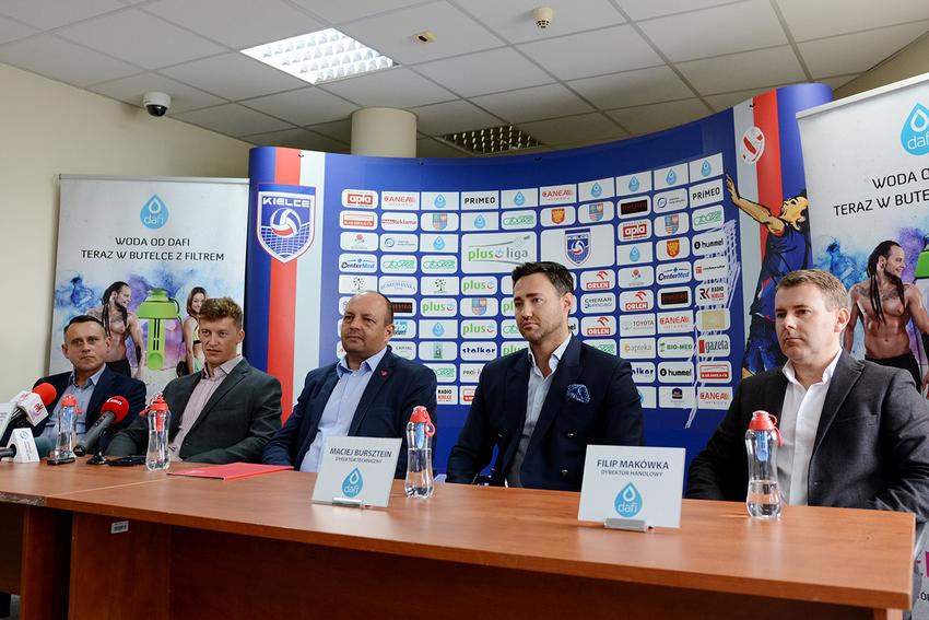 Dafi sponsorem siatkówki w Kielcach