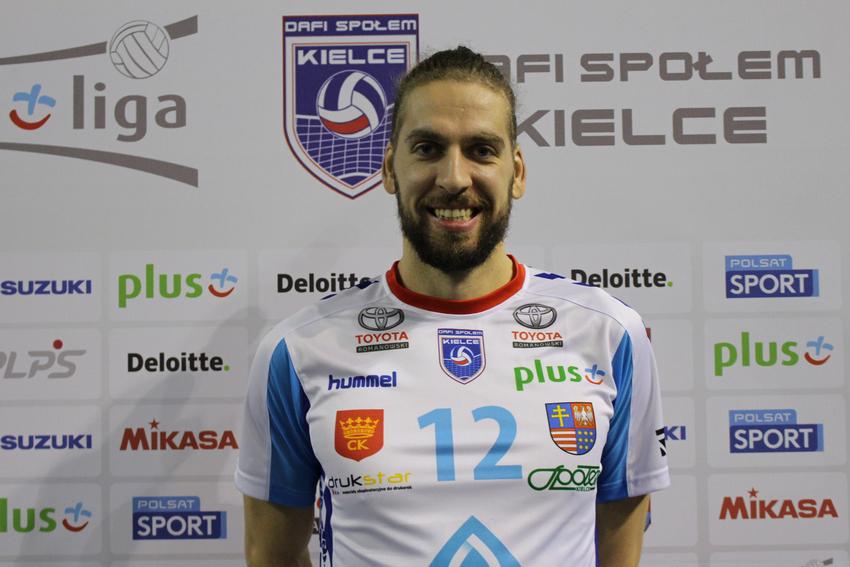 Tomislav Dokić nowym atakującym Dafi Społem Kielce