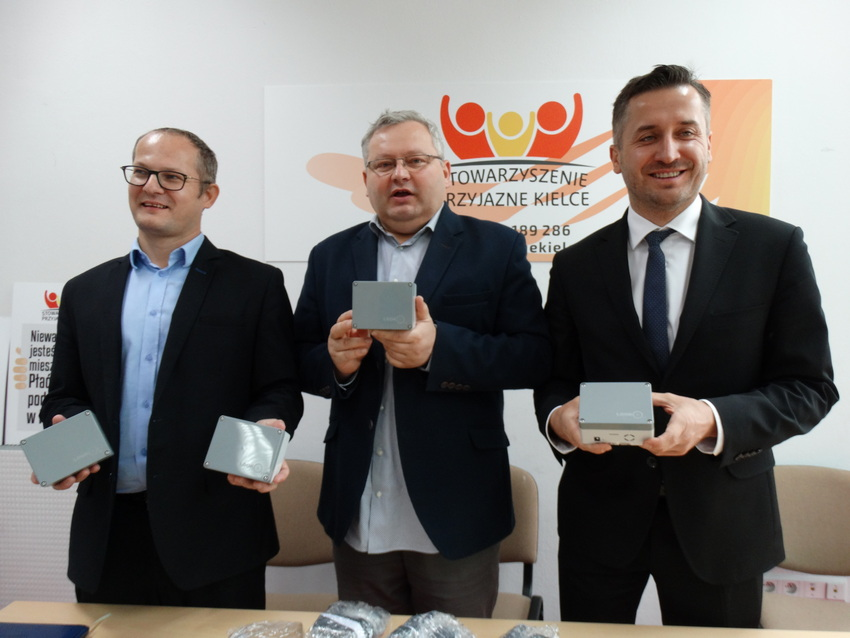 W Kielcach powstanie obywatelska sieć czujników smogu