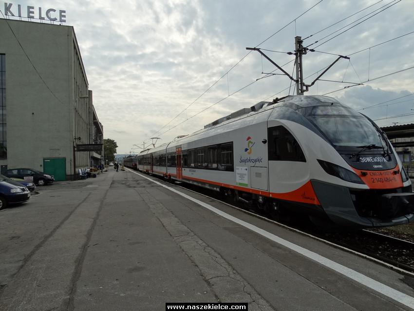 Pociągiem do Buska