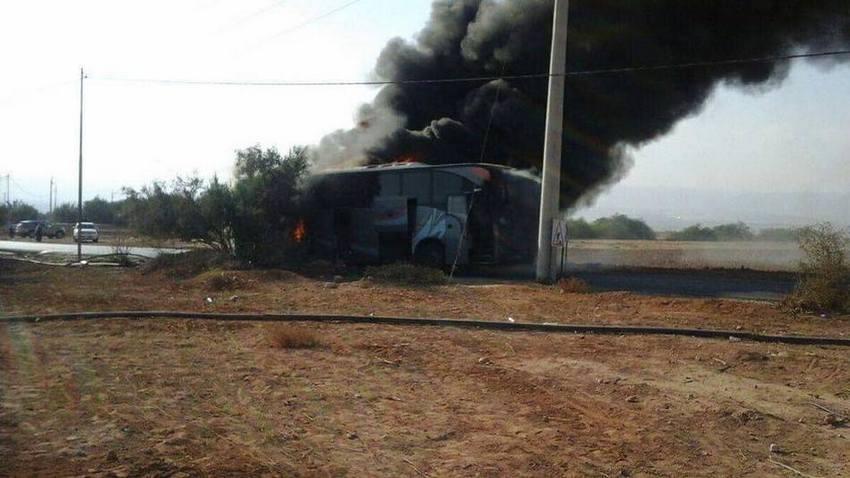 Spłonął autokar pielgrzymki MPK Kielce