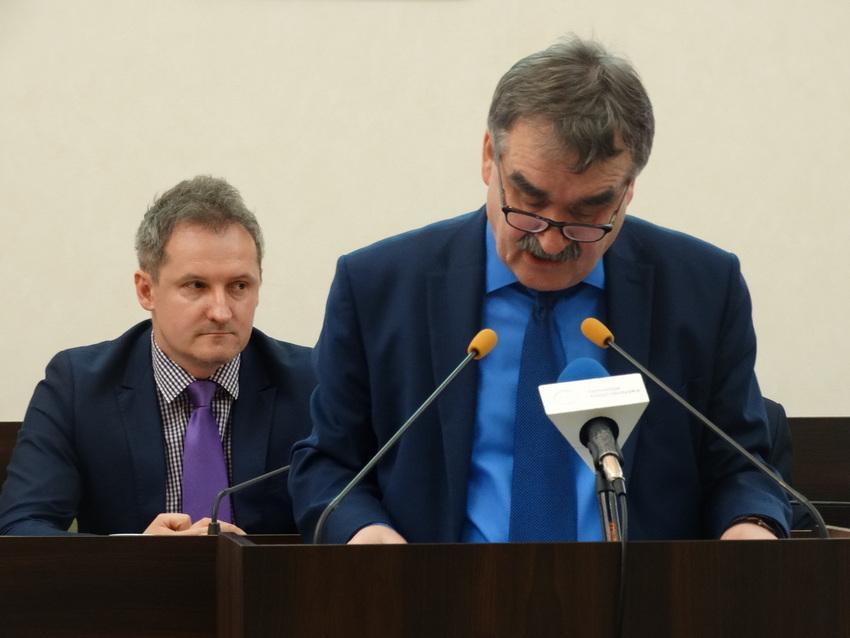 Prezydent Lubawski w szpitalu
