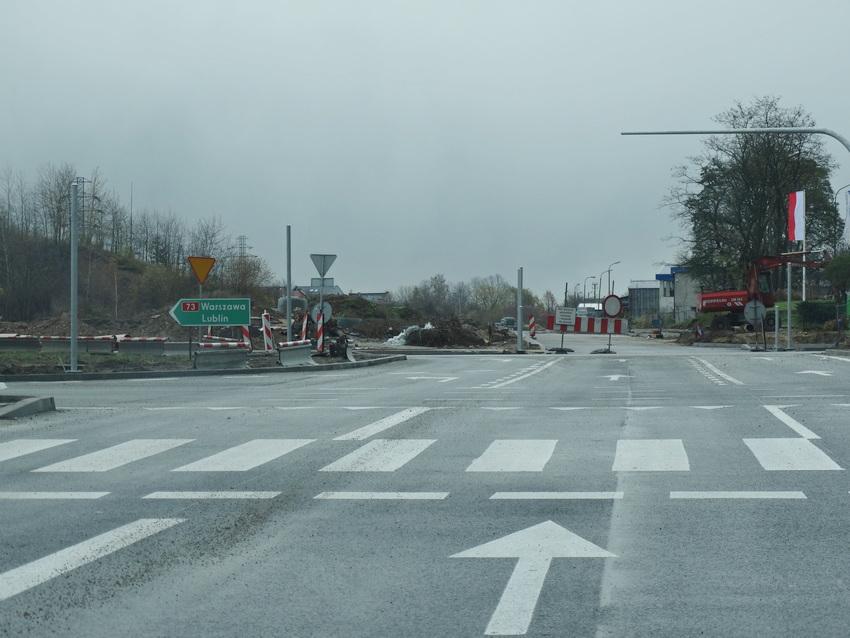 Rondo na Tarnowskiej oddane do użytku