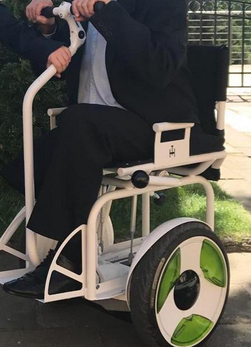 Policjanci poszukują skradzionego wózka inwalidzkiego