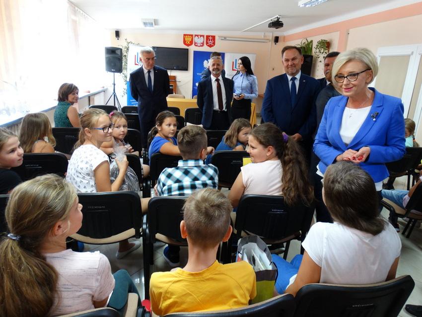 Nie minister a wiceminister edukacji odwiedziła Kielce