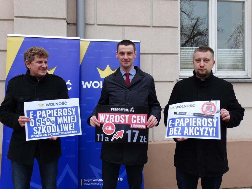 Kielecka Wolność w trosce o kieszenie palaczy