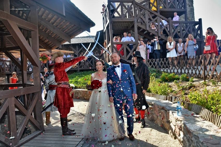 Dobry rok Zamku w Chęcinach. Odbył się nawet pierwszy ślub w warowni