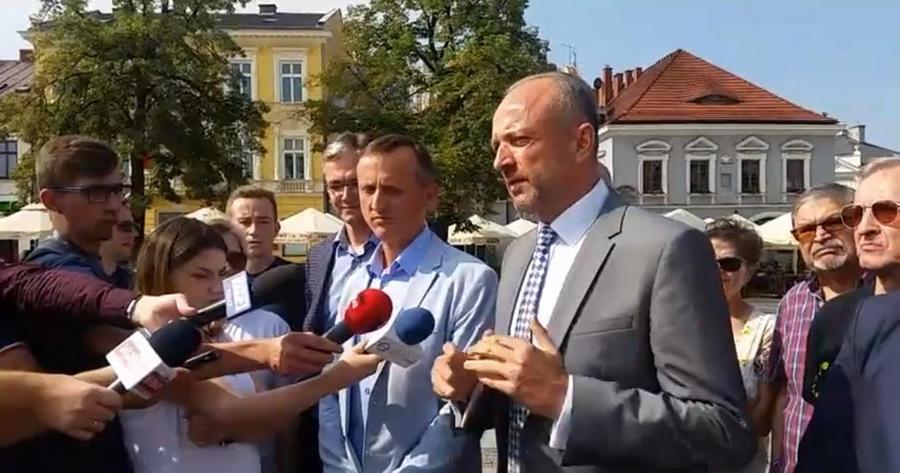 Krzysztof Adamczyk do wyborów razem z PSL. To jest nieuczciwość w stosunku do wyborców?