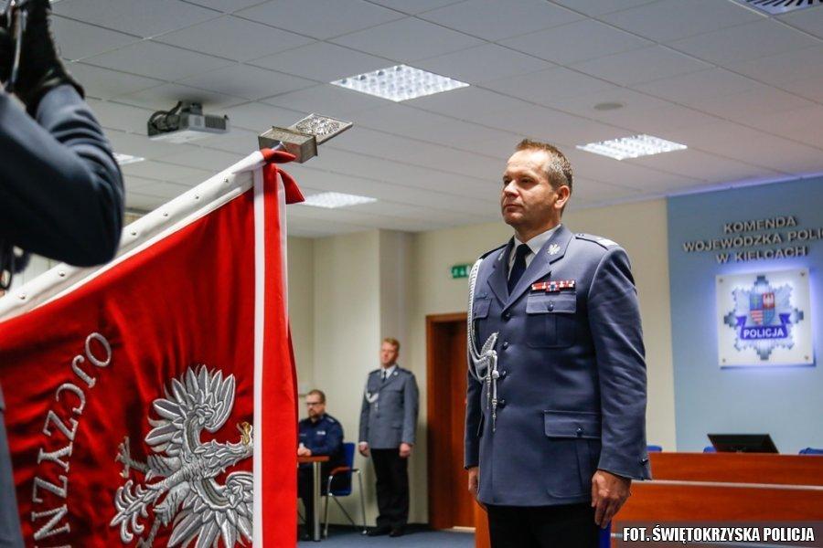 Świętokrzyski Komendant Policji pożegnał się z Kielcami. Obejmie stanowisko w stolicy
