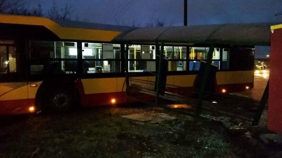 Autobusem w przystanek