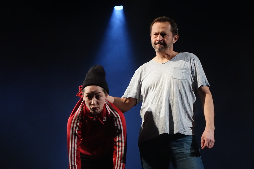 Ciemności w kieleckim Teatrze (WIDEO)
