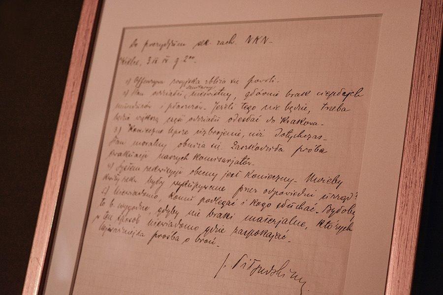 List Piłsudskiego po ponad 100 latach wrócił do Kielc