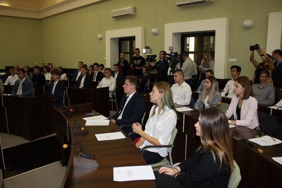 Pierwsze obrady Młodzieżowej Rady Miasta Kielce