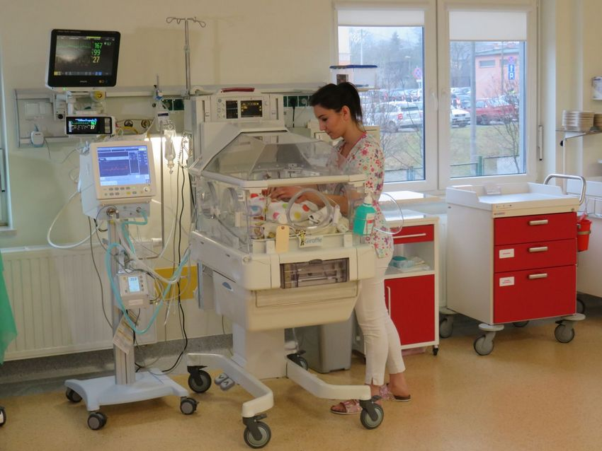 Nowe inkubatory w szpitalu na Czarnowie