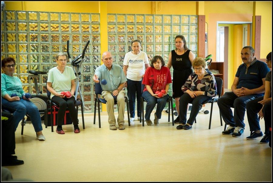 Trenują przed Parkinsoniadą