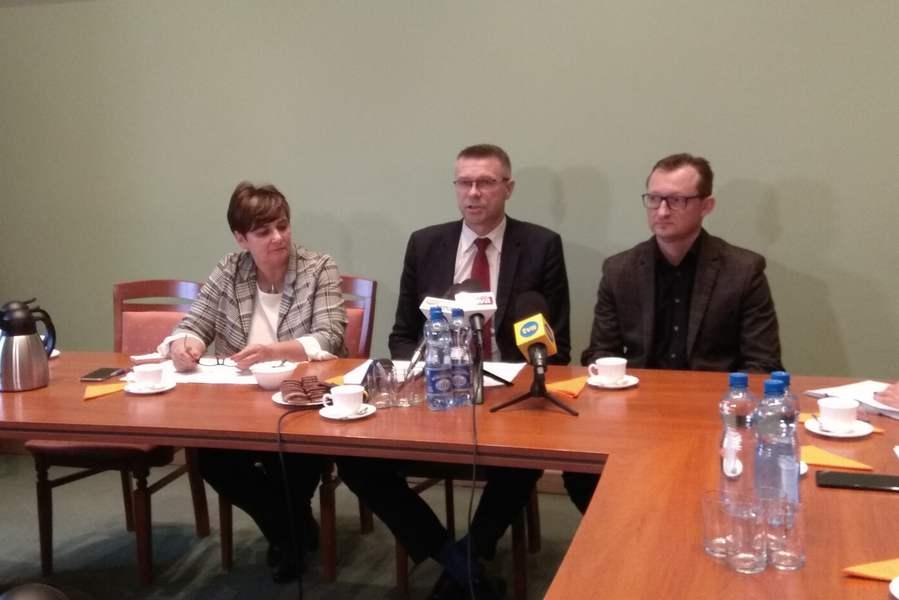 Prezydent Bogdan Wenta podsumował miesiąc rządów