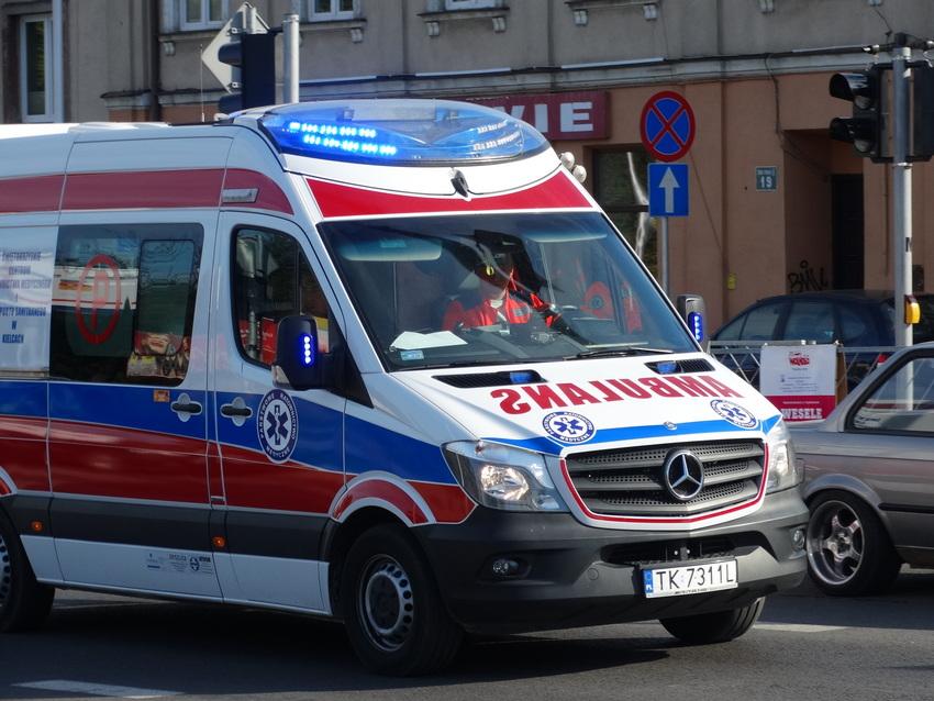 Wypadek na budowie w centrum Kielc. Nie żyje 50-letni pracownik