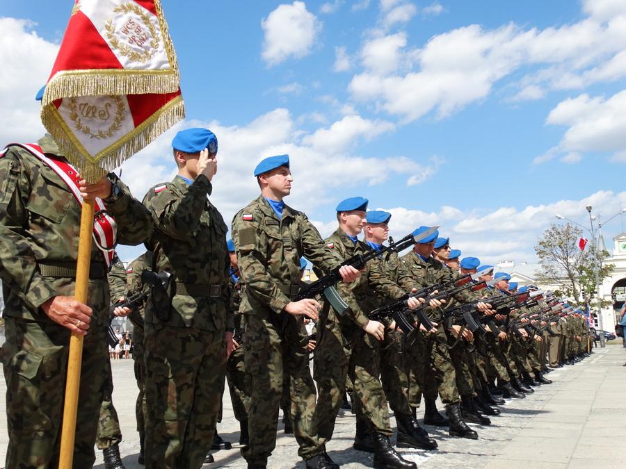 Obchody Święta Wojska Polskiego w Kielcach